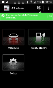 application audi e-tron connect