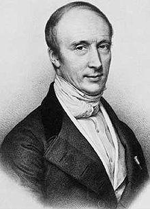 lithographie d'Augustin Louis Cauchy