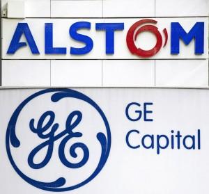 logos Alstom et GE Capital