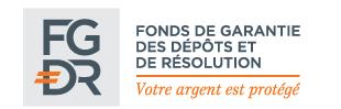 logo du donds de garantie des dépôts et de résolution