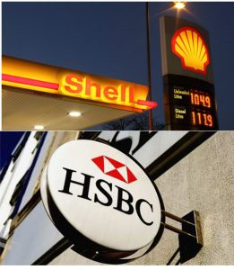 Royal Dutch Shell et HSBC Holdings PEA novembre 2016